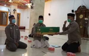 Pengurus Masjid Diminta Ingatkan Jemaah Agar Selalu Pakai Masker