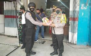 Kapolda Kalteng Cek Pengamanan di Gudang Logistik KPU Kapuas