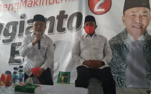 Hari Terakhir Kampanye H Sugianto Sabran - H Edy Pratowo Kunjungi Masyarakat di Pelabuhan Rambang