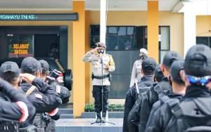 55 Personel Polda Kalteng BKO Polresta Palangka Raya