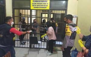 16 Tahanan Polres Gunung Mas Ikut Mencoblos