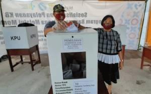 Anggota DPRD Gunung Mas Bangga Masyarakat Disiplin Terapkan Prokes