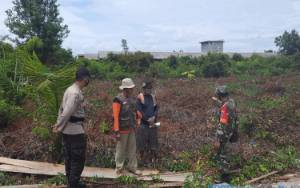Polsek Katingan Hilir Gelar Patroli Terpadu Antisipasi Karhutla