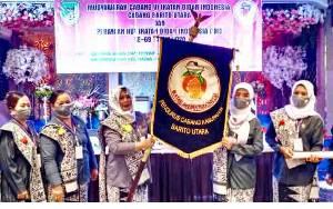 PC IBI Barito Utara Gelar Muscab, Astri Anggraeni Terpilih Sebagai Ketua