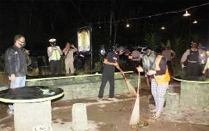 Kapolres Barito Timur Pimpin Operasi Yustisi Malam
