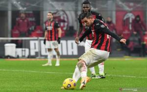 Dwigol Hernandez Hindarkan Milan dari Kekalahan Pertama di Liga Italia