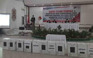 Ketua KPU Gunung Mas Buka Rapat Pleno Rekapitulasi Hasil Penghitungan Suara