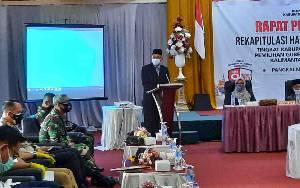 Partisipasi Pemilih di Kobar Mencapai 66 Persen