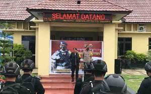 Dansat Brimob Polda Kalteng Pimpin Patroli Sinergi Skala Besar di Kapuas, Ini Tujuannya