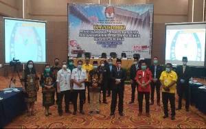 Hasil Pleno KPU Kalteng, Pasangan Sugianto - Edy Unggul 3,2 Persen