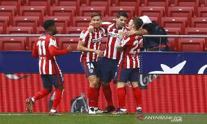 Klasemen Liga Spanyol: Atletico Unggul Tiga Poin di Puncak