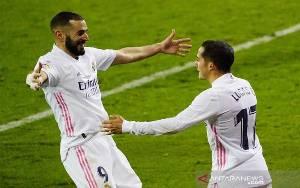 Benzema Tampil Gemilang Bawa Real Madrid Menang di Eibar