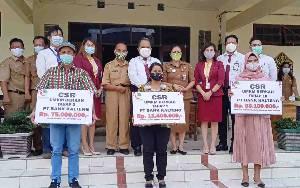 Diskoperin Barito Timur Salurkan Dana Bantuan CSR UMKM Berkah