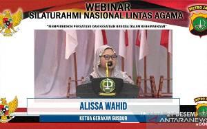 Alissa Wahid: Indonesia Ada karena Keberagaman