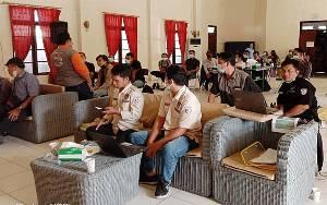 KPU Bartim Gelar Rapat Kerja Persiapan Perselisihan Hasil Pilgub Kalteng 2020