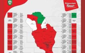 4 Kecamatan di Kotim Nihil Kasus Covid-19 dan Sisanya Zona Merah