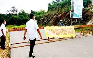 Dinas Perhubungan Tutup Total Sementara Jalan H Koyem