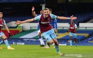 West Ham Awali 2021 dengan Pecundangi Everton di Goodison Park