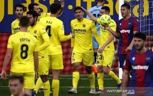 Villarreal Segera Kembali ke Jalur Kemenangan Ketika Atasi Levante 2-1