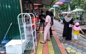 Warung di Taman Hijau Kasongan Kembali Buka