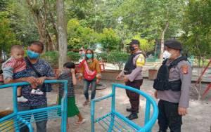 Polsek Katingan Hilir Patroli di Tempat Wisata
