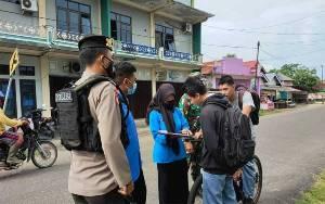 Personel Gabungan Masih Temui Warga Langgar Protokol Kesehatan di Kuala Pembuang