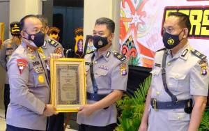 38 Personel dan 1 PNS Polda Kalteng Pensiun