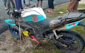Kecelakaan Tunggal, Pemuda Ini Tewas di Depan Gerbang Bandara Tumbang Samba