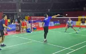 Cerita dari Latihan Perdana Pemain Indonesia di Arena Turnamen Thailand Open