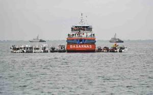 Penyelam Pramuka Bantu Evakuasi Korban Sriwijaya SJ-182
