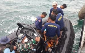 Tim Gabungan TNI AL Bawa Kotak Hitam Sriwijaya Air ke JICT