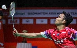 Anthony Tegaskan Dominasi atas Heo di Babak Pertama Thailand Open
