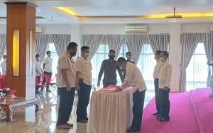 Wakil Bupati Murung Raya Pimpin Sertijab di Lingkup Setda
