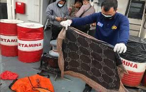 Tim SAR Polri Kembali Temukan Properti Korban Sriwijaya Air