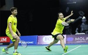 Praveen/Melati Lolos ke Babak Kedua Thailand Open
