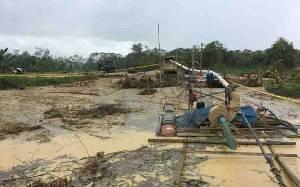 Polisi Tangkap 3 Penambang Ilegal di Gunung Mas