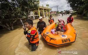 Banjir HST Semakin Parah, Listrik Padam dan PDAM Macet