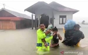 5.753 Rumah dan 19.871 Jiwa Terdampak Banjir di Tanah Laut