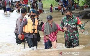 Awan Konvektif Picu Curah Hujan Tinggi Berakibat Banjir di Kalsel