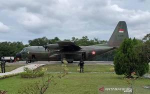 TNI Kerahkan Pesawat Bantu Korban Gempa Sulbar