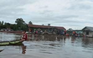 BPBD Murung Raya Ingatkan Warga Bantaran Sungai di 10 Kecamatan Rawan Banjir