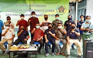 Kejaksaan Negeri Barito Utara Silaturahmi dengan PWI