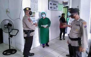 Kapolsek Bukit Batu Cek Personel Pengamanan Vaksin Covid-19