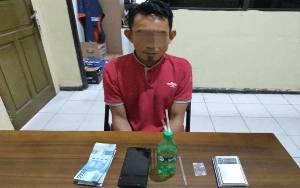 Pria 45 Tahun Ini Diringkus Anggota Polda Kalteng Karena Sabu