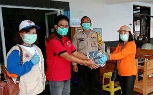 Satgas Penanganan Covid-19 Kalteng Bantu Masker UPT Puskesmas Kayon