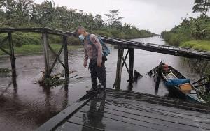 Kondisi Debit Air di Kecamatan Seruyan Hilir Terus Dipantau