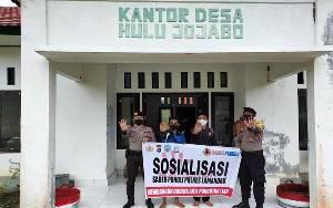 Polsek Delang Sosialisasikan Saber Pungli