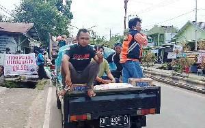 Berbagai Komunitas di Barito Timur Galang Bantuan untuk Korban Banjir Kalimantan Selatan