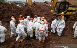 Tim SAR Sudah Temukan 32 Orang Tewas Korban Longsor Sumedang