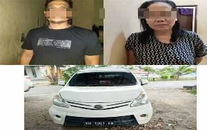 Pasutri Pencuri Mobil Ini Merupakan Residivis Penipuan dan Penggelapan